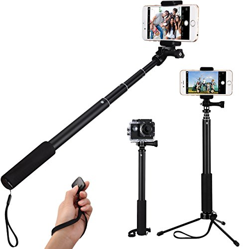 mpow bluetooth selfie stick mit stativ handy stativ mit. Black Bedroom Furniture Sets. Home Design Ideas