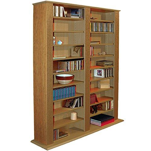 genesis cd dvd regal eiche oznep. Black Bedroom Furniture Sets. Home Design Ideas