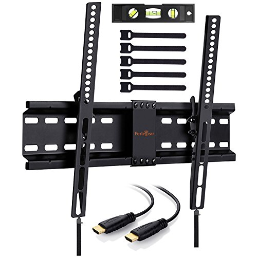 Perlegear tv wandhalterung neigbar f r 32 70 zoll fernseher tv halterung h lt bis zu 45kg - Wandhalterung fur tv gerate ...