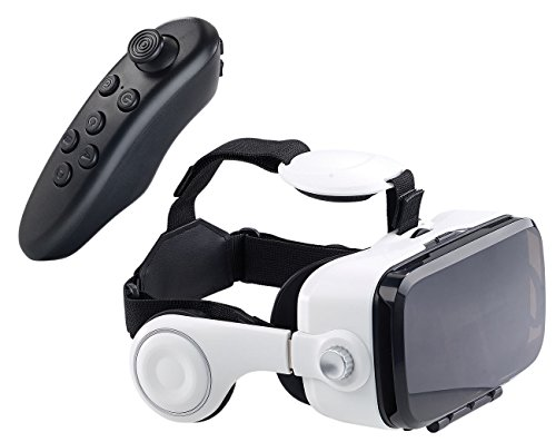 auvisio 3d brille virtual reality brille mit headset. Black Bedroom Furniture Sets. Home Design Ideas