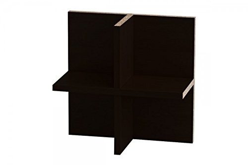 ikea kallax expedit regal cd einsatz regalkreuz fach fachteiler f r 60 cds r ckwand gegen. Black Bedroom Furniture Sets. Home Design Ideas
