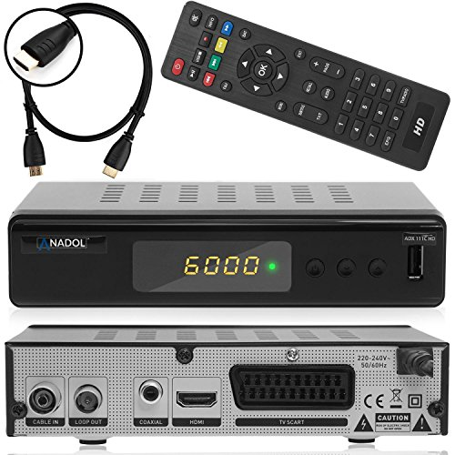 anadol adx 111c digitaler full hd kabel receiver umstieg. Black Bedroom Furniture Sets. Home Design Ideas