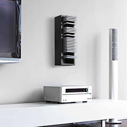 cd regal cd wandregal cd st nder mit platz f r 30 cds in drei verschiedenen farben oznep. Black Bedroom Furniture Sets. Home Design Ideas