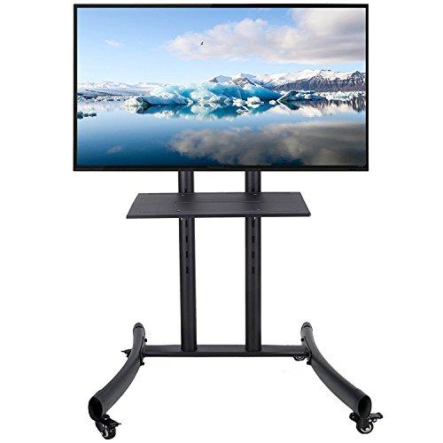 co z mobiler standfu tv st nder stand tv standfuss mit rollen f r lcd led plasma fernseher. Black Bedroom Furniture Sets. Home Design Ideas