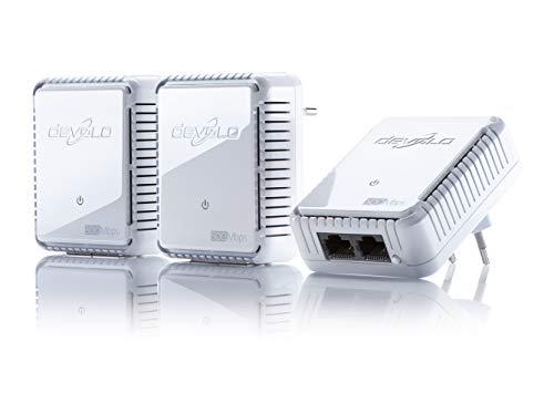 devolo dlan 500 duo network kit powerline 3x powerlan adapter internet aus der steckdose 2. Black Bedroom Furniture Sets. Home Design Ideas
